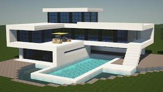 minecraft casa moderna