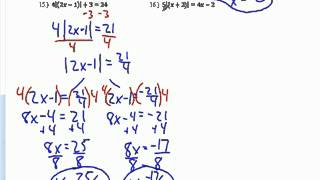 Algebra 2 Practice Chapter 1 Test