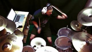 OoD Six Feet Under - Human Target [Drum Cover]