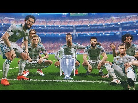 PES 2018 - PSG vs Real Madrid | Final UEFA Champions League