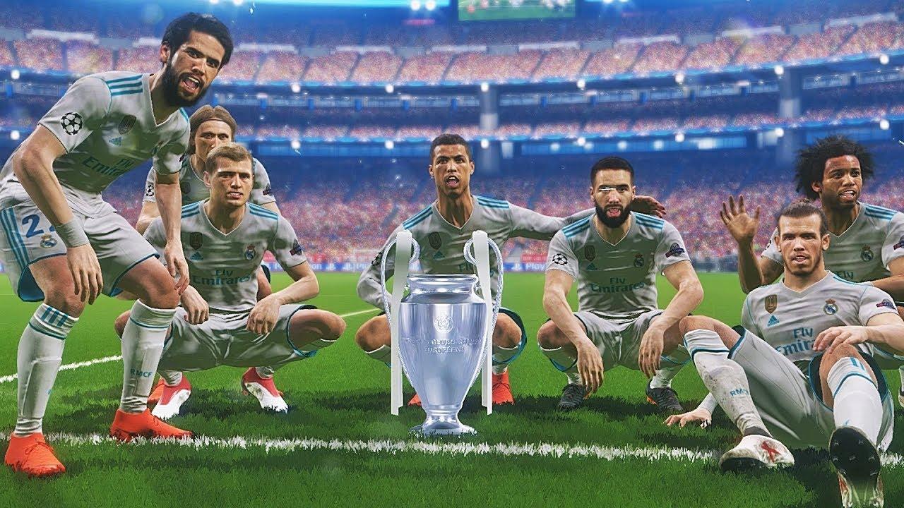 PES 2018 - PSG vs Real Madrid | Final UEFA Champions ...