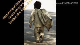 Kisah sedih seorang anak yatim piatu asli bikin nangis😢