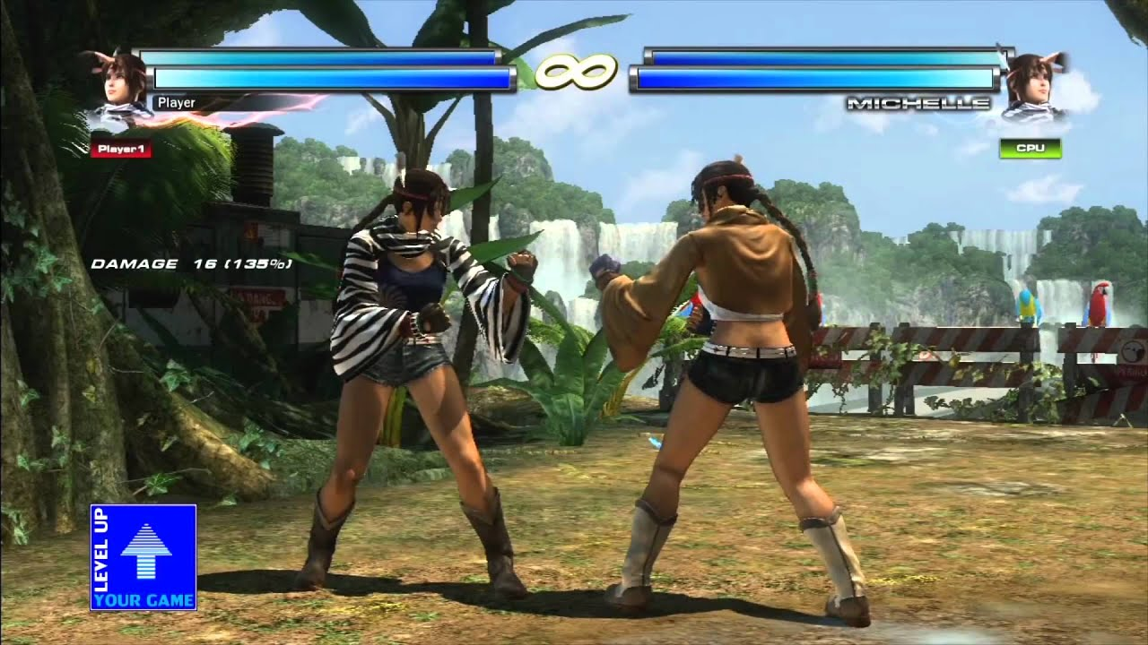 tekken tag tournament 2 - michelle chang overview fullhd - youtube