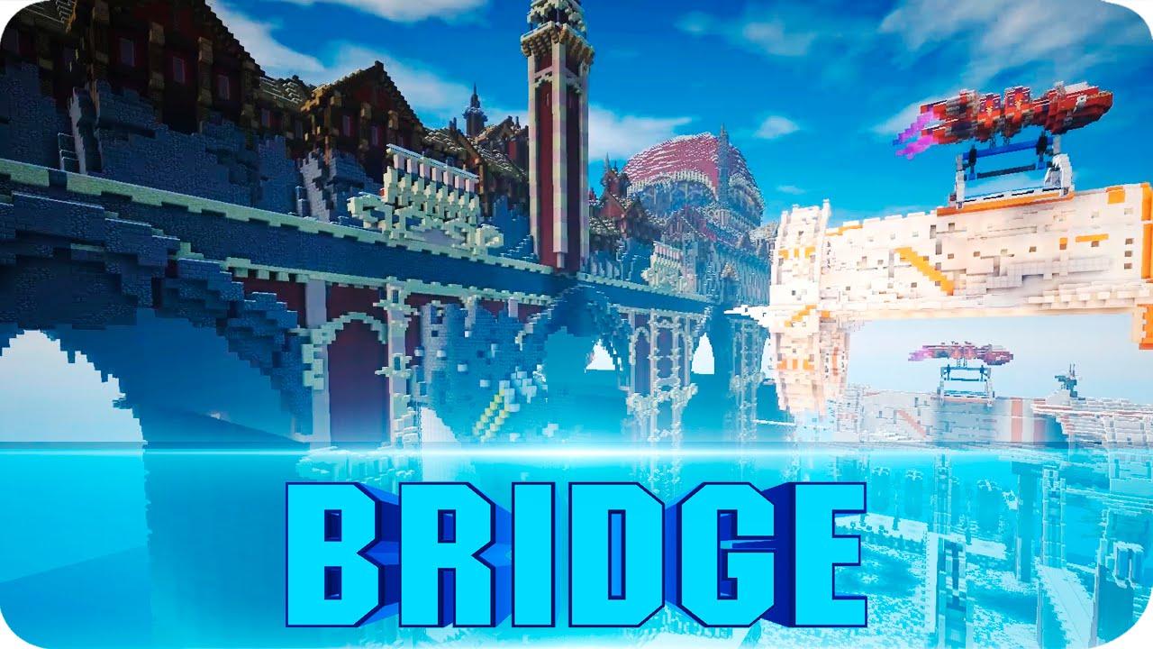 Minecraft - The Bridge City of Non Anor Cinematics - Epic Map w/ Download