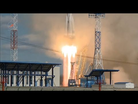 First Soyuz Launch from Vostochny Cosmodrome
