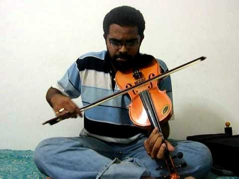Shankar Mahadevan's Breathless - Fast version in Violin by Subramoni Rengarajan