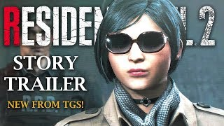 RESIDENT EVIL 2 REMAKE | NEW Ada Wong Story Trailer | TGS 2018 Tokyo Game Show