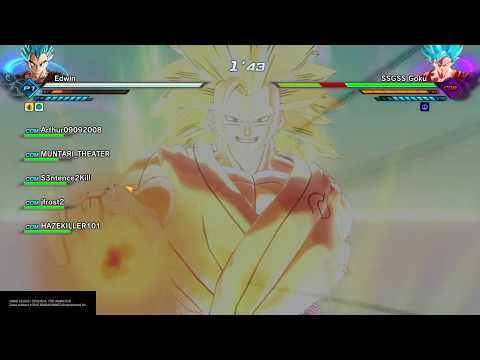 DRAGON BALL XENOVERSE 2 In the realm of gods Goku