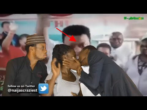 Image result for pastor kisses female members to cast out demon