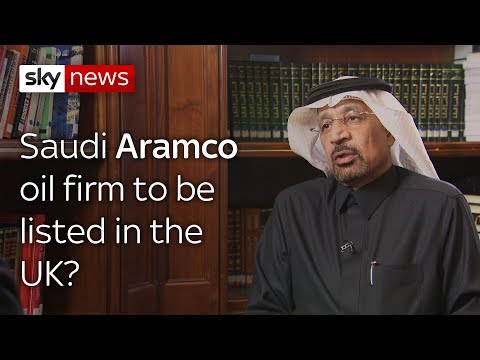 Could the giant Saudi Aramco firm come here?