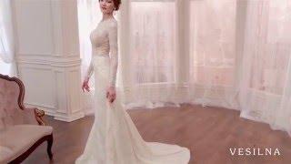 Свадебное платье 2016 года от VESILNA™ модель 3067