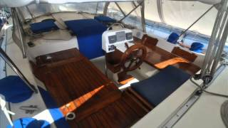 1981 Hardin 45 Cutter Yacht for sale- USD 150,000.