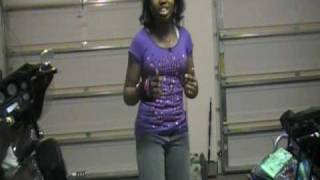 Tiffany Evans ft Ciara -Promise ring remix. Uncut footage.