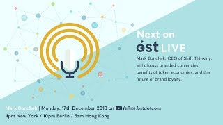OST LIVE #050: Branded Currencies and Tokenized Loyalty For Business