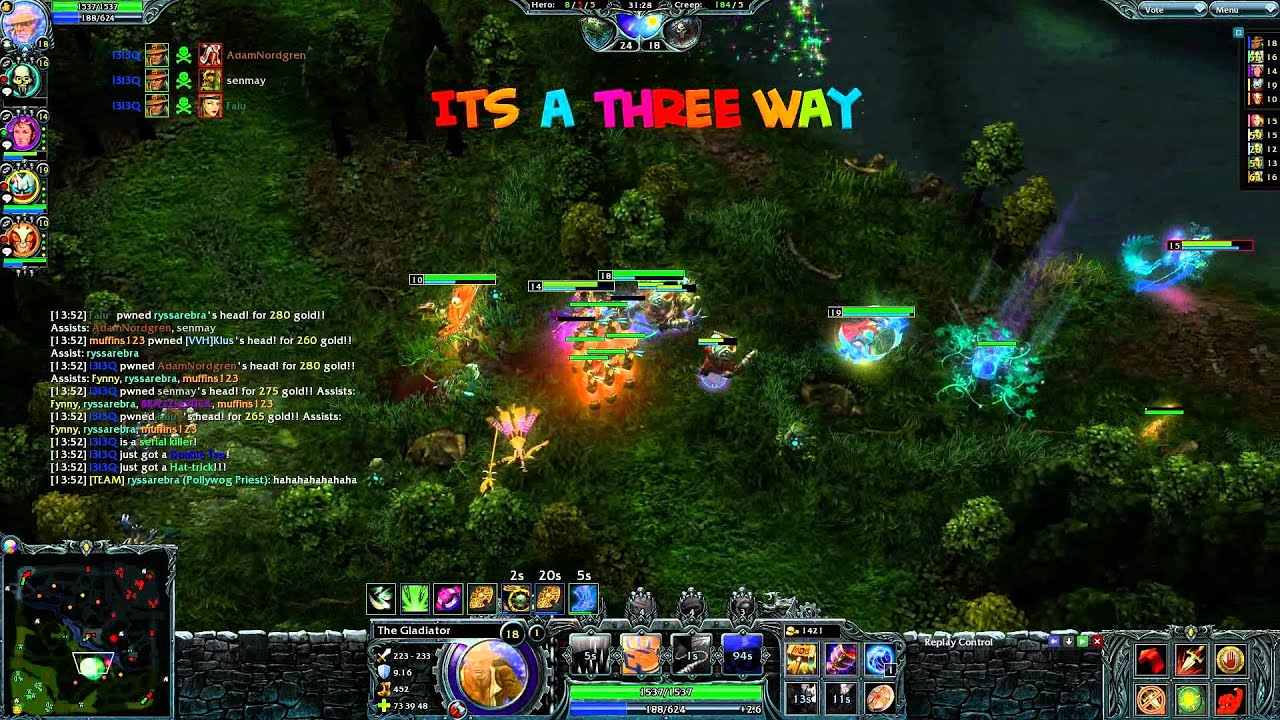 Heroes of Newerth – real-time strategy game