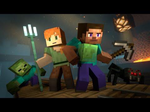 Mineshaft (Minecraft Animation)
