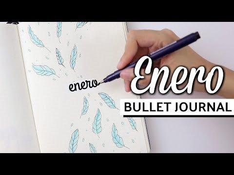 MI BULLET JOURNAL - ENERO 2018