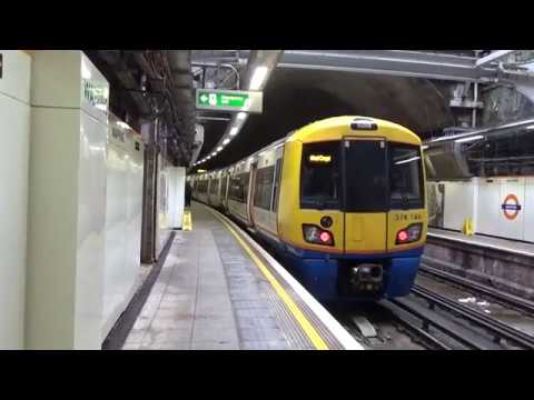 London Overground 378146 at Wapping