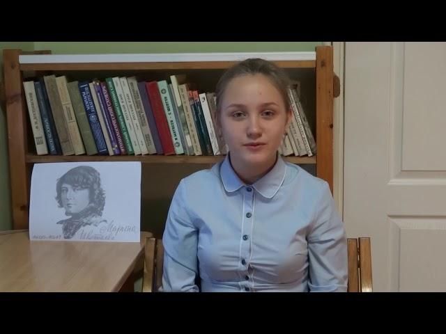 Изображение предпросмотра прочтения – ДарьяКочукова читает произведение «Мне нравится, что Вы больны не мной...» М.И.Цветаевой