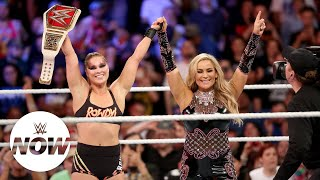 Ronda Rousey wins the Raw Women's Title at SummerSlam: WWE Now