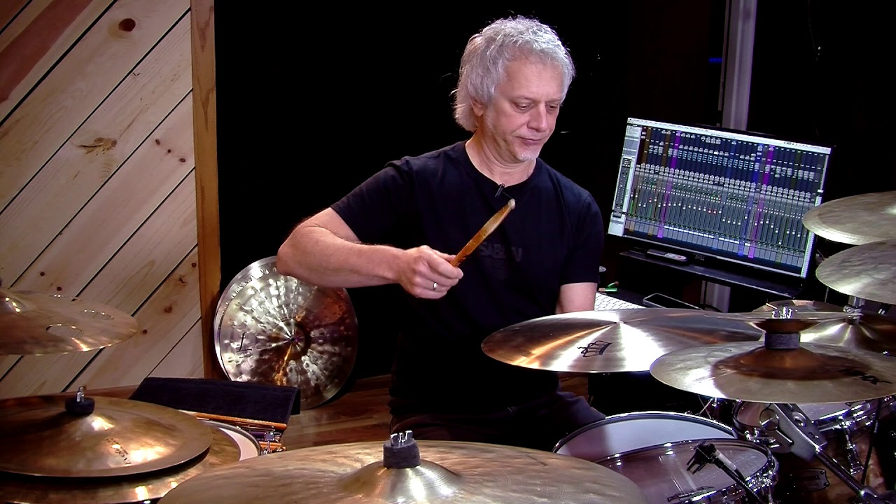 """Dave Weckl on the 21"""" Limited Edition Serenity Ride - YouTube"""