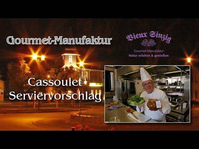 Cassoulet bei Vieux Sinzig