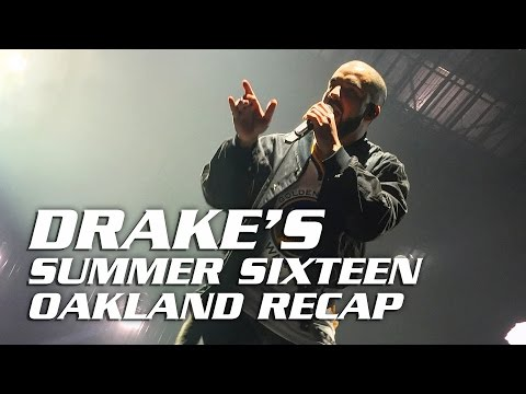 Drake & Future: Summer Sixteen at Oracle Arena-Oakland 9/13/16