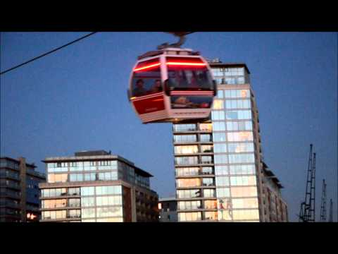 Emirates Cable Car Twilight