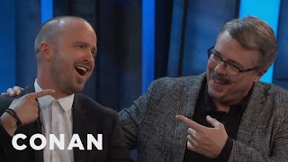 "Vince Gilligan Reveals The One Thing He'd Change About ""Breaking Bad""  - CONAN on TBS"