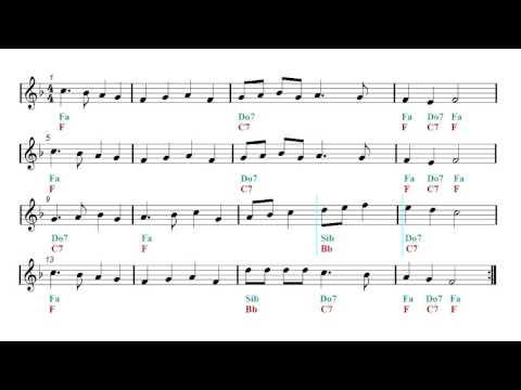 Truckin - Jamaican Rock - Latin Remix - Backing track - Deck The Halls (Sheet music - Guitar chords)