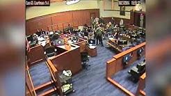Court footage shows Deputy U.S. Marshals tackling Ammon Bundy's lawyer (FULL)