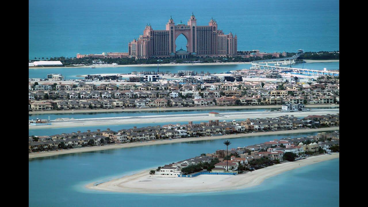 Dubai Marina Marriott Harbour Hotel Blick Auf Palm Jumeirah