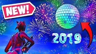 New Years Event in fortnite for 2019