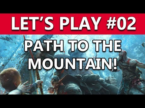 Let's Play God Of War PS4 Live Stream - Chapter 2 Stuff