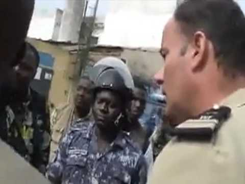 French colonel punished after threat to Togo journalist