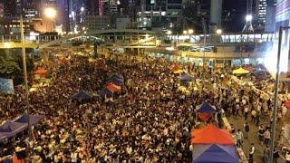 Biểu tình Hong Kong hâm nóng đường phố
