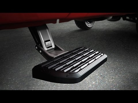 Amp Research Bedstep Bumper Step Installation Youtube