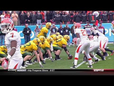 College Football   NCAA Division I, Final North Dakota State vs  Sam Houston State 01 07 2012
