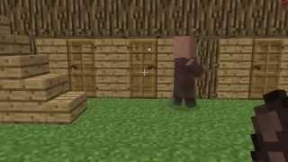 Minecraft - Ферма Изумрудов/Emerald farm(В этом видео я вам расскажу, как сделать практически неисчерпаемую ферму изумрудов в 1.3, за 1 заход я получал..., 2012-06-27T09:50:32.000Z)