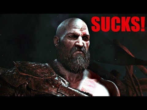 God of War 4 SUCKS! - God Of War PS4 2018 Rant/Review