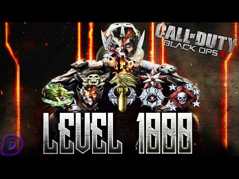 LEVEL 1000 MASTER PRESTIGE! STATS, ICONS, LEARDERBOARDS, & MORE! (COD BO3)