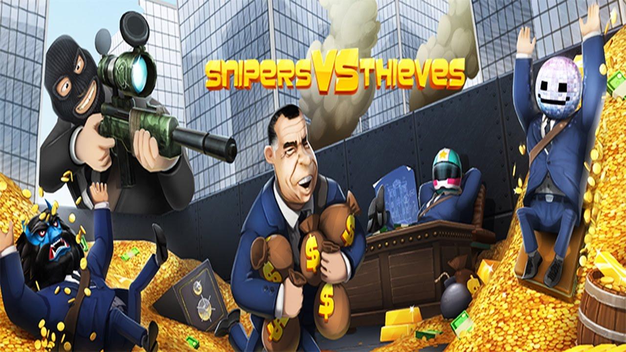 Resultado de imagem para Snipers vs Thieves