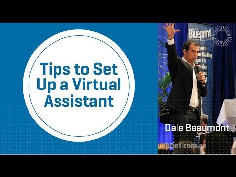 Tips to Set Up a Virtual Assistant