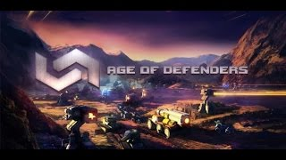 Age Of Defenders - Multiplayer Tower Defense And Offense Post Apocalyptic RTS HD