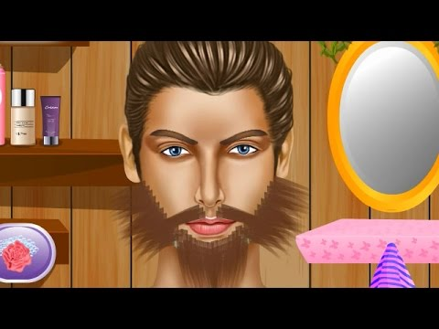 NEW Игры для детей—Салон красоты Уход за бородой—мультик для девочек