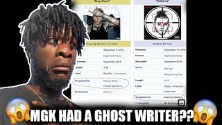 Machine Gun Kelly Had a Ghost Writer On Rap Devil??