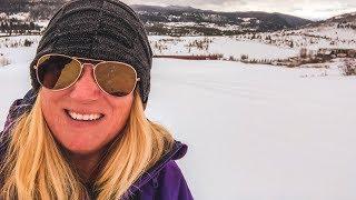 Snow Tubing in Colorado at Vista Verde Ranch