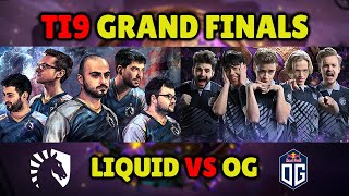 Battle of the Champions: TI9 Grand Finals Replay - OG (TI8 Champions) vs Liquid (TI7 Champions)