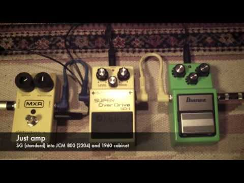 Boost pedals for Marshall JCM 800 - TS-9 vs SD-1 vs Dist +