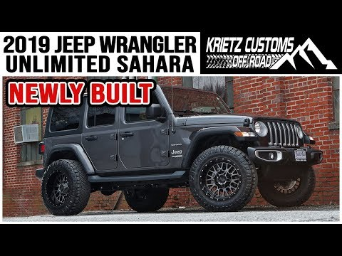 2018 Jeep Wrangler Unlimited Sahara│ Krietz Customs
